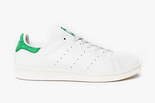 Mens Adidas Stan Smith White Green On Sale